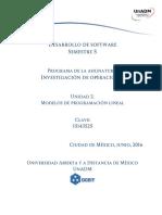 Unidad 2 Modelos de Programacion Lineal