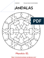 Mandalas Fichas 21 40