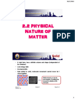 2.2 Physical Nature of Matter