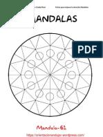 Mandalas Fichas 61 80