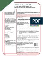 Mathematics Mastery Year 2 Unit 1 Guide 1