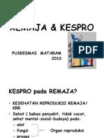 KESPRO-REMAJA