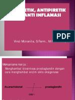 Analgetik, Antipiretik,Antiinflamasi.mhs