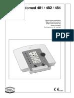 Electroteraphy ENRAF NONIUS Endomed 48x - User Manual