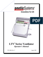 Ventilator Transport LTV Series - Operator Manual