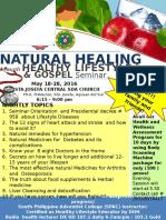 Flyer natural healing