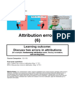 Soc 6 Attribution Errors IB14