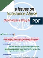 Substance Abuse (Alcoholism & Drug Addiction)