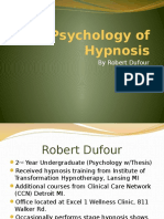 The Psychology of Hypnosis-Pptx