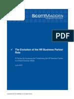 Hr as Business Partner PDF