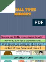 6.2 Formation of Faeces Defaecation1