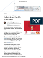 India's Grand Gamble With China.pdf