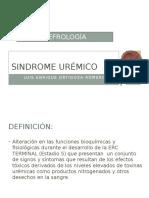 Síndrome Urémico