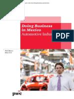 2013 05 Doing Business Automotriz