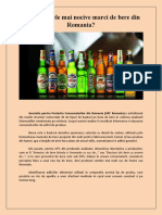 Care sunt cele mai nocive marci de bere din Romania?