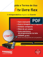 Manual Claro Tv Livre Visiontec