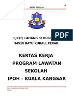 Kertas Kerja Lawatan Ke Pulau Pinang