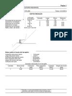 Verificacion de Estabilidad Gavion
