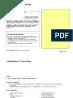 intro to psychology units
