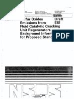 1984-01-01 EPA-450-3-82-013a PB84-143254 Proposed FCCU SO2 Standards BID