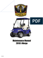 2010 Tomberlin Emerge Service Manual