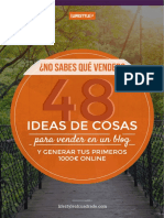 48 Ideas Vender Blog
