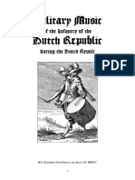 military music from the dutch revolt