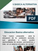 Educacion Basica Alternativa