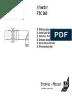 03_Detector de Nivel FTC 968