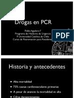 Drogas en PCR P. Aguilera 2012