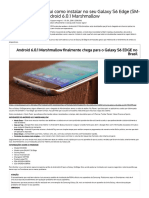 Tutorial - Android 6.0.1 No S6 Edge SM-G925I