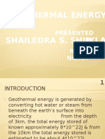 SHAILENDRA GEOTHERMSL PPT