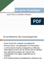 5.- El problema de investigación