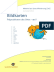 Material Grundschule Bildkarten