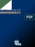 Cmc Zaw i Er Cie Product Portfolio