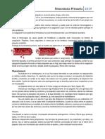1 Clase de Hemato, Hemostasia Primaria (1)