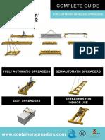 Diptico Container Spreaders
