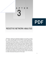 Resistive Network Analysis
