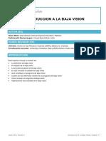 01 Introducction a La Baja Vision