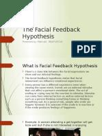 The Facial Feedback Hypothesis