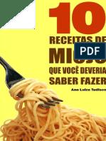 10 Receitas de Miojo Que Voce D - Ana Luiza Tudisco