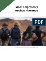 Informe Mx Empresas DDHH