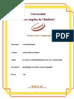 Monografia Etica e Independencia de Auditores Completa