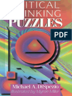 Michael a. DiSpezio, Myron Miller Critical Thinking Puzzles