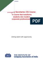 The Institute of Company Secretaries of India (ICSI) Brochure