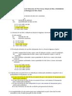 Avaliação Seleção de Diretriz e Vãos Livres de Eng. Submarina