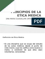 Principios de La Etica Medica