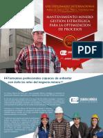 Mantenimiento Minero Gestion Estrategica Para La Optimizacion de Procesos