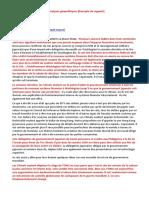 01-03-2014-Nouvelles Hebdomadaires Et Analyses Géopolitiques-[Exemple de Rapport]