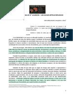 [Silva, Petronilha Gonçalves e] 10 Anos Da Lei No 10.639-03 – Um Olhar Crítico-reflexivo